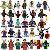 Wholesale DC Super Hero Star Wars Figures The Avengers Classic Toys amp Hobbies Figures DIY Building Blocks Bricks Minifigures Toy