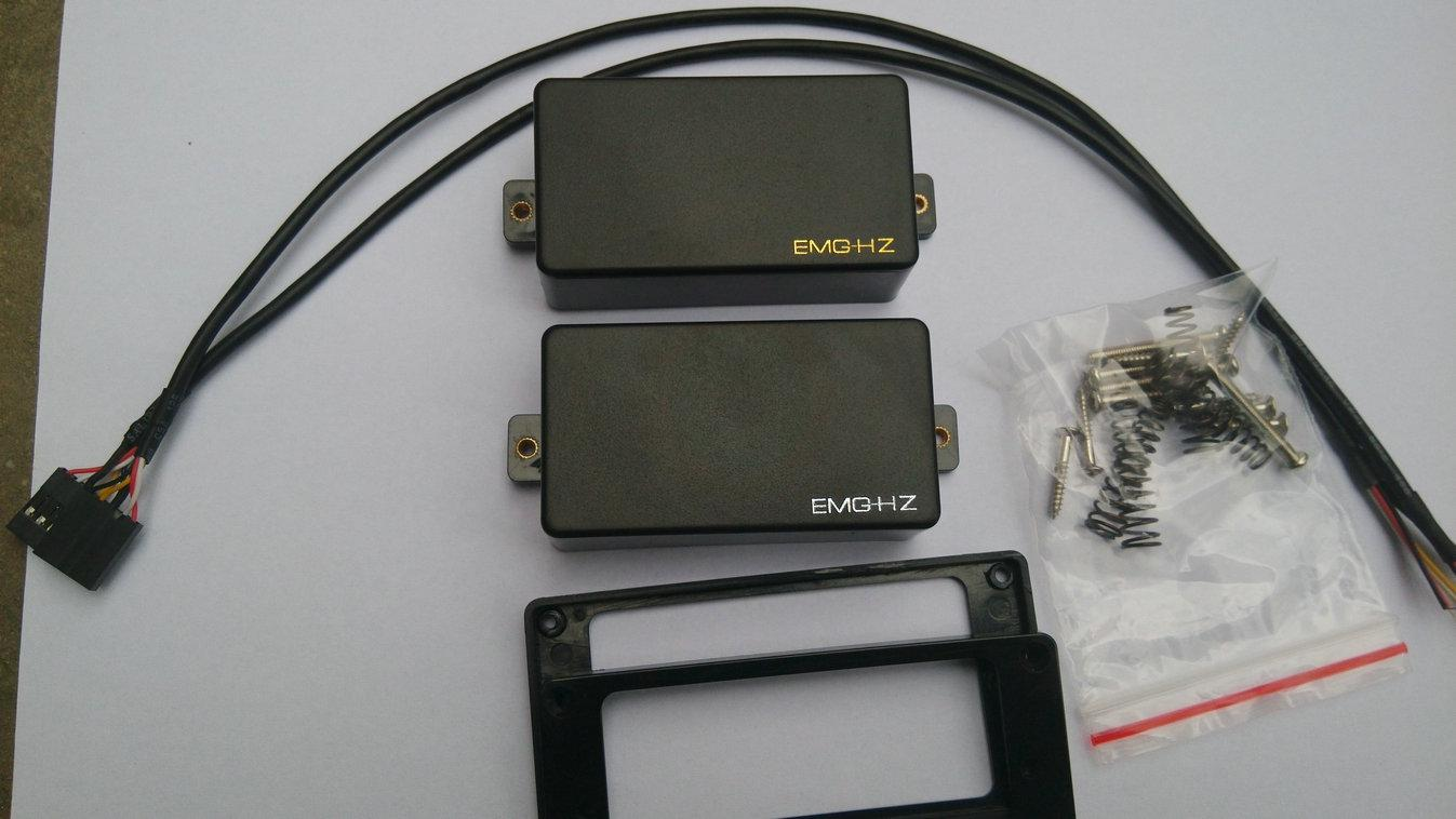 emg hz h4    h4a passive humbucker pickup set