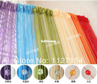 Wholesale 300 cm Acrylic Beaded String Curtain Door Screen Divider Window Blind Drape Wedding Drapery room divider