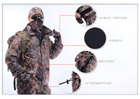 Camping & Hiking hunting clothes - Top Quality Remington Professional DUCK bionic camouflage hunting clothes camouflage waterproof jacket suit jacket pant C201