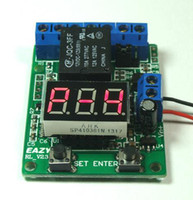 Wholesale pc V Multifunction time relay board timer counter countdown trigger voltmeter detection control