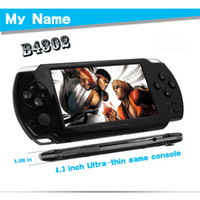 Wholesale hot sell Handheld inch UItra thin game console Google Android game console B4302