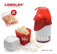 Wholesale Christmas gift Home popcorn machine mini Popcorn Makers Household Santa Claus Mini Popcorn machine