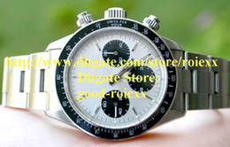 Wholesale Brand New Amazing Men s Automatic Full Steel Cosmograph Watch Mens Sports Retro Watches Men Dive Wristwatches