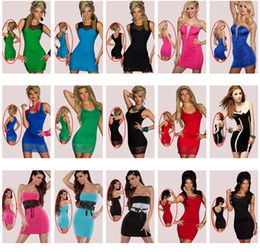 Wholesale DHL EMS Mix Styles Babydoll Hot Women s Lingerie Sexy Club Dress with G string Clubwear High Quality