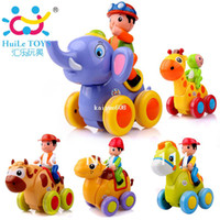 Wholesale hot sale Animal Rocking show Child Baby Inertia Toy cars Elephants Pony Camel Cow Deer