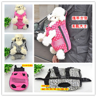 Wholesale Reversible Sling Dog Carrier Pet Dog haversack shoulder bag Small dog bag Pet products