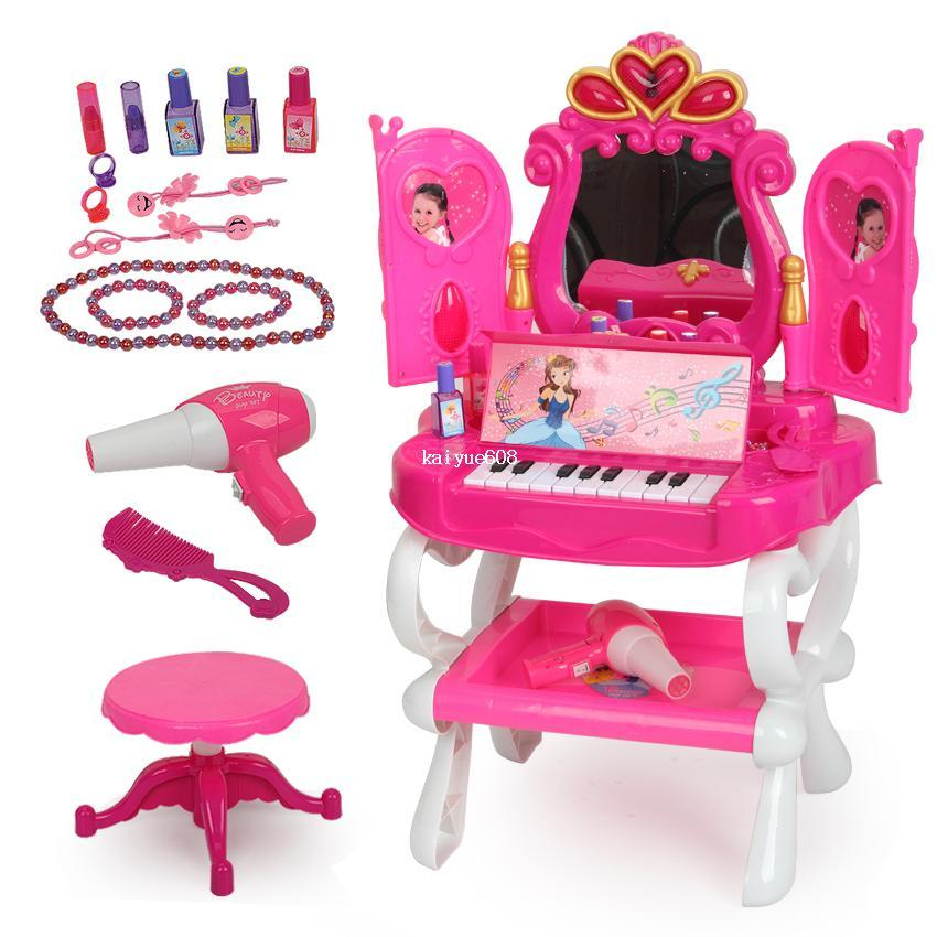 Toys For Girl : Dearie child toy set vanity dressing table girl toys