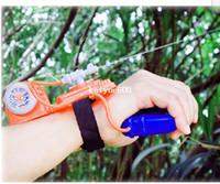 Wholesale 2014 hot sales Hand Splasher Water Blaster Simba spider man wrist water guns toys plastic water gun high pressure reach meters