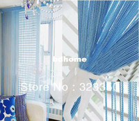 wall dividers - m m single color string curtain polyester string curtain room divider wall decoration color available