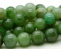 Wholesale Discount Natural Genuine Green Australia Jade Chrysoprase Round Loose Stone Beads mm DIY Necklaces or Bracelets quot