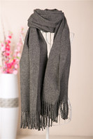 Scarves Yes Solid Christmas Promo 2013New Arrival Product Cashmere-like Acrylic Yarns Scarves Winter Warm Scarf For Men Pure Classic Scarf Brand