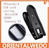 Wholesale micro SimPhone4s SIM card cutting machine cut calipers MicroSIM shear machine I9500 Samsung S4