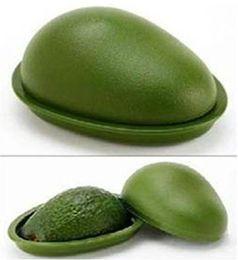 Wholesale 10sets green color PVC Avo Saver Avocado Saver fruit Crisper salver cover