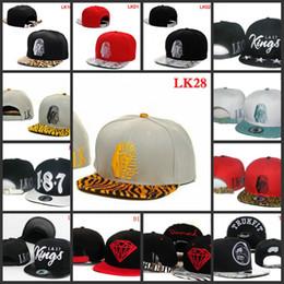 Wholesale Many Style Snapback hats Last King Hats Leopard Hater Snapbacks Hip Hop cotton adjustable hats caps men women