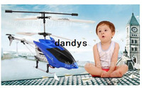 Wholesale Easy to operate CH wireless remote control aircraft with gyro body lights mini helicopter rc dandys