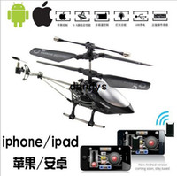 Wholesale 777 ch Gyro mini i helicopter radio control by iphone ipad itouch rc helicopter USB Charger dandys