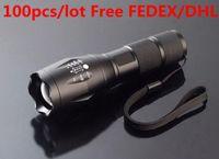 Wholesale UltraFire LED Flashlight Lumens High Power CREE XM L T6 Torch modes Free FEDEX DHL