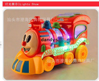 Wholesale Light and music cartoon toys Thomas electric trains Thomas the train toys Accessibility dandys