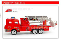 Wholesale Fire engine model climb ladder truck ladder scalable children s toys dandys