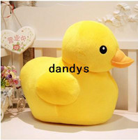 toy duck calls - 45cm Authentic will be called yellow duck cute cartoon toy plush doll lovers christmas gifts birthday gift stuffed toys dandys