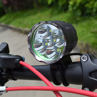 Wholesale Cycling Headlamp LM x CREE XML T6 LED HeadLight Bike Light x18650 Battery Pack