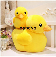Wholesale 90cm Authentic will be called yellow duck cute cartoon toy doll lovers christmas gifts birthday gift stuffed toys dandys