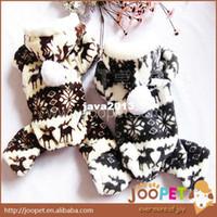 dog pajamas - Pet Dog Cat Product Winter Spring Polar Fleece Sportwear Dog Jumpsuit Hoodie Pet Dog Pajamas