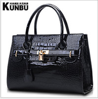 Wholesale luxury brand new women lady tote handbag designer lock shoulder bag colors fashion accessory cheap