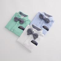 100% cotton shirt fabric - Euramerican summer laza boy s short sleeve shirt kids cotton shirt Oxford fabric T shirt all size