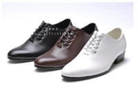Men low price dresses - Lowest price men s black shine wedding shoes prom shoes leather shoes PX1