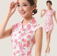Wholesale Cheap cheongsam silk cheongsam dress sexy chinese dress cheong sam chinese cheongsams A11