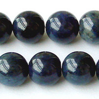 Angel natural beads - Discount Natural Genuine Blue Dumortierite Round Loose Stone Beads mm DIY Jewelry Necklaces or Bracelets quot