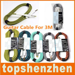 Wholesale Guitar Cable For Aspecial Chord M FT Patch Effect Woven Planet Wave Cord Cable Apply to Yamaha Guitar