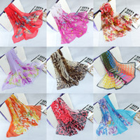Wholesale 2014 spring fashion lady scarf chiffon printed scarves shawls hundreds of styles hot sale