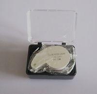 Wholesale 10pcs Mini x Magnifying Glass LED Illuminate Jeweller Loupe