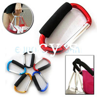 Wholesale Soft Large Carabiner Holder Handle Shopping Hook Sport Climbing Outdoor Keychain