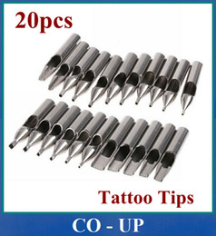 Wholesale Pro Sizes Stainless Steel Tattoo Neddle Tips