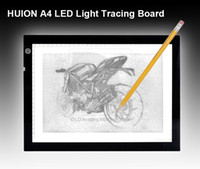 Wholesale NEW HUION A4 LED Light Box Thin Translucent Drawing Tracing Sketch Board