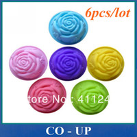 Wholesale pieces rose chocolate silicon mold Cake decoration mold Cupcake moulds Jelly pudding
