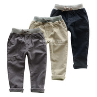Trousers Boy Summer 2013 new autumn and winter children's clothing boy pants Korean boys and girls thick corduroy trousers children pants baby