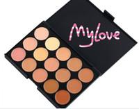 Wholesale colors makeup Camouflage Concealer Neutral Palette concealer powder concealer cream sets