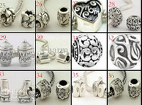 Wholesale Cheap Silver Charm Beads - 10% OFF!2015 new fashion Jewelry beads! Cheap beads!The charm of beads!for Pandora beads!pandora charm,925 silver beads,100pcs lot