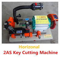 Wholesale DHL Single Key Machines AS W Key Cutting Machines Useful Horizonal Key Duplicating Machines with fine tuning
