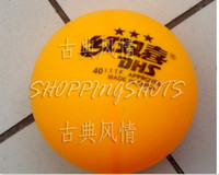 Wholesale 300 Ping Pong Table Tennis Balls Double Happiness PP004 orange ball