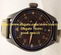big power hand - New Style Mens Mechanical Big Pilot Miramar Watch Men day Power Reserve Green Fabric Watches Men s Dive Sports Wristwatches