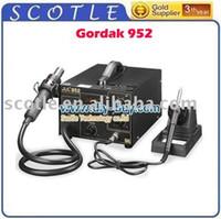 Cheap New Arrival 220V Gordak 952 SMD Rework Station Desoldering Station Hot Air Gun Heat Gun