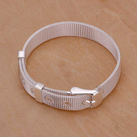 Wholesale sterling silver jewelry bracelet fine fashion bracelet top quality and retail SMTH237