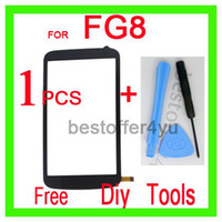 Touch Screen Yes FLYING FG8 FG8 Touch Screen Digitizer Replacement for Fg8 phone dual sim cell phone, Free shipping, Mini Order 1 pcs, with TRACKING NO