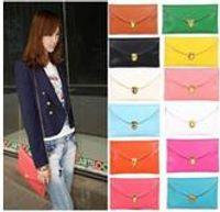 Wholesale DHL new Womens Envelope Clutch Chain Purse Lady Handbag Tote Shoulder Hand Bag colors